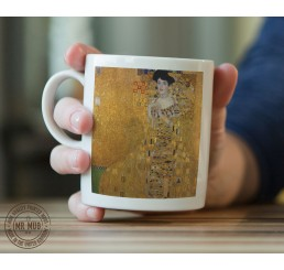 Gustav Klimt - Portrait of Adele Bloch-Bauer I - Printed Ceramic Mug