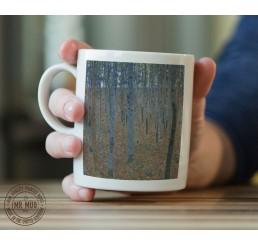 Gustav Klimt - Beech Grove I - Printed Ceramic Mug