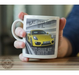 My other car is a Porsche 911 - Printed Ceramic Mug