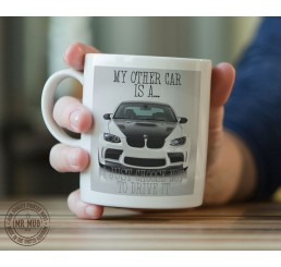 My other car is a BMW M5 - Printed Ceramic Mug