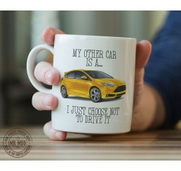 My other car is a Ford Focus RS - Printed Ceramic Mug