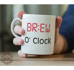 BR:EW O' Clock - Printed Ceramic Mug