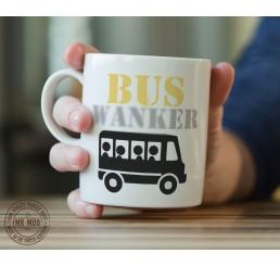 Bus W@*ker - Printed Ceramic Mug