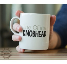 The Office Knobhead - Printed Ceramic Mug