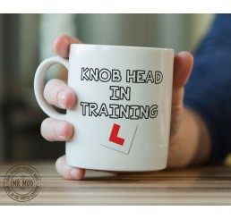Knob head in training - Printed Ceramic Mug