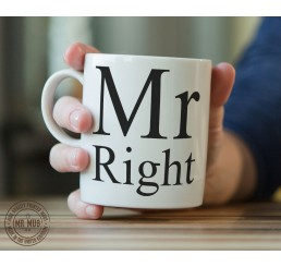 Mr Right - Printed Ceramic Mug