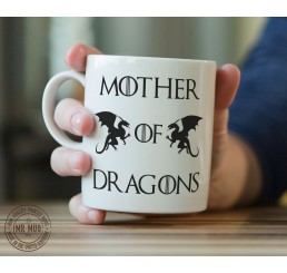 Game of Thrones 'Mother of Dragons' - Printed Ceramic Mug